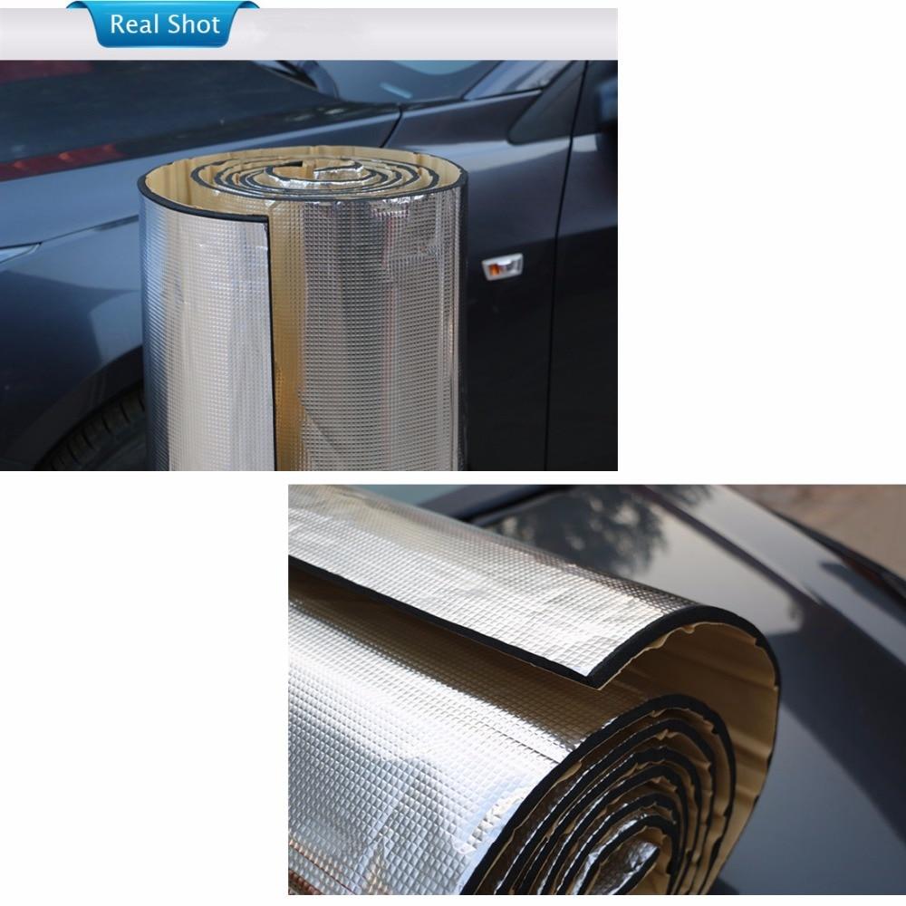 15 sqft Sound Deadener Insulation Mat Noise Heat Shield Insulation Automotive Deadening Foam Panels Sound Insulation Cotton Soun