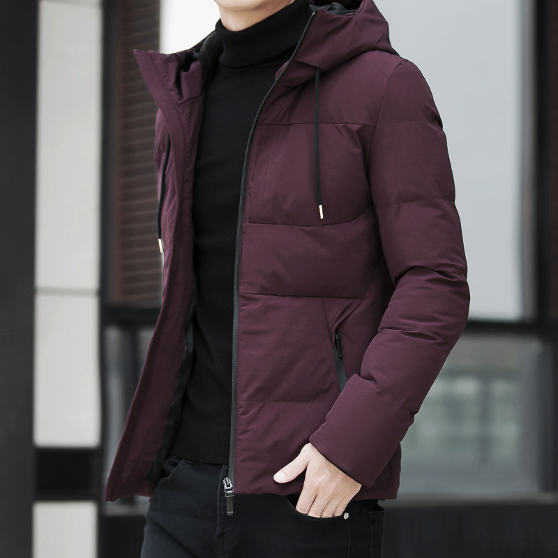 Brand Winter Jacket Men Clothes 2018 Casual Stand Collar Hooded Collar Fashion Winter Coat Men Parka Outerwear Warm Slim fit 4XL 2