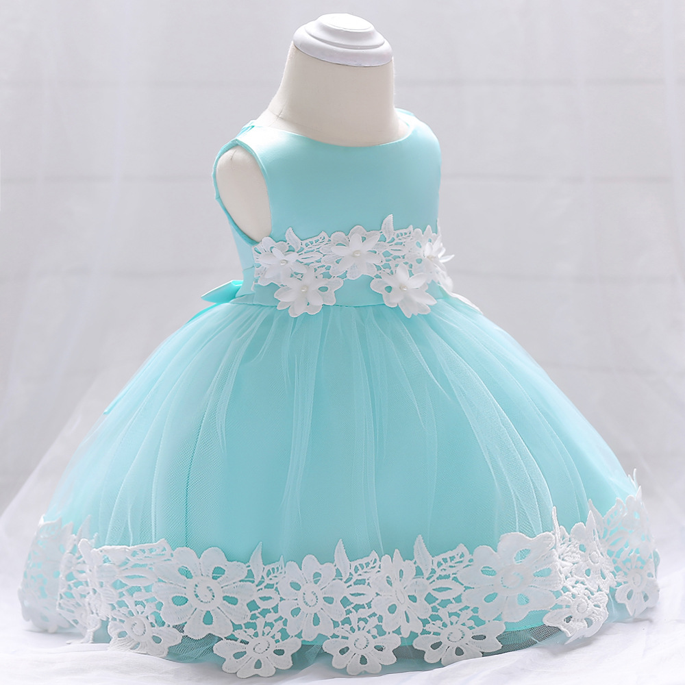 Summer Baby Clothes 2017 Christening 1 Year Birthday Party Baby Girl ...
