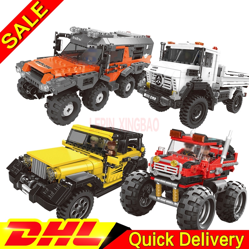 XingBao 03024 03025 XingBao 03026 03027 All Terrain Vehicle legogo Set Car Kits Building Blocks Self-Locking Bricks legogo ToysXingBao 03024 03025 XingBao 03026 03027 All Terrain Vehicle legogo Set Car Kits Building Blocks Self-Locking Bricks legogo Toys