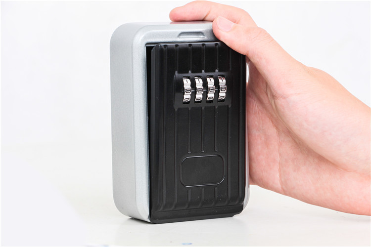 Key Safe Box Home Factory Office Outdoor Key Storage Box Wall-mounted Password Combination Security Keys Hold Lock Safes (5)