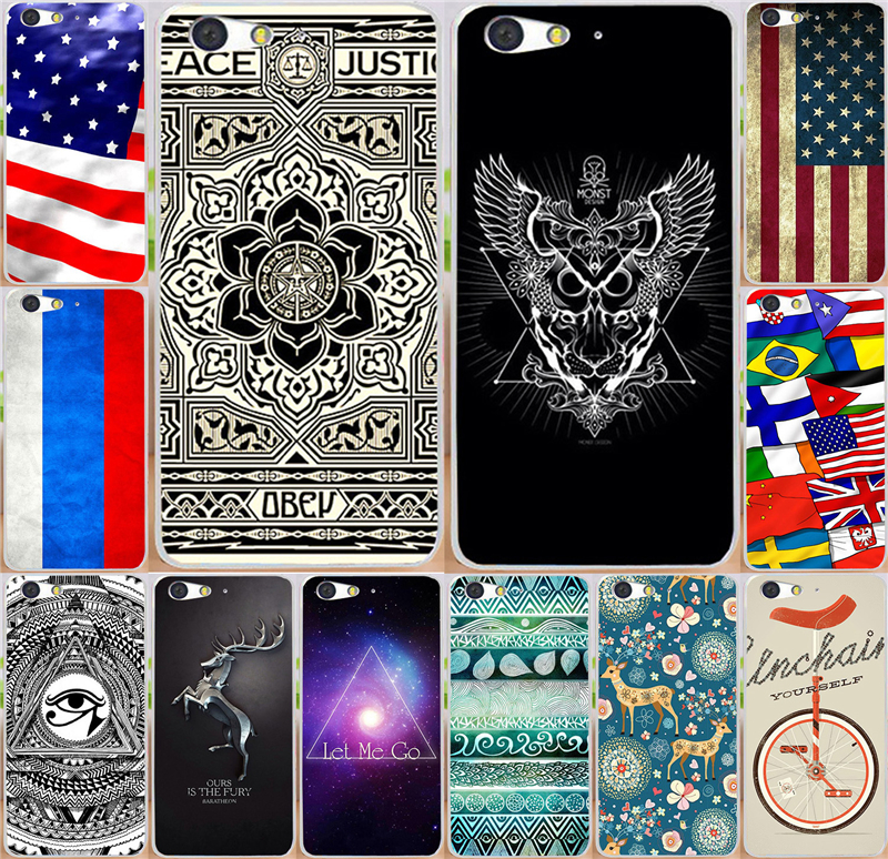 Painted National flag Eye Let Me Go PC moblie phone case For ZTE Blade V6 D6 X7 Blade D6 Blade X7 Cases Covers shell
