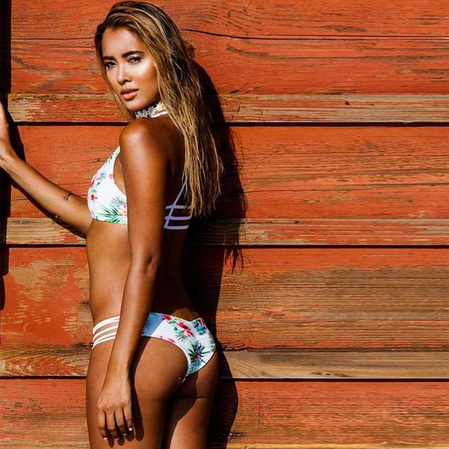 Retro Strapless Bikini