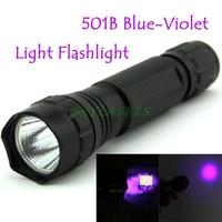 UltraFire WF 501B LED Flashlight 375NM UV Ultra Blue Violet Blacklight Waterproof Torch Lamp 18650