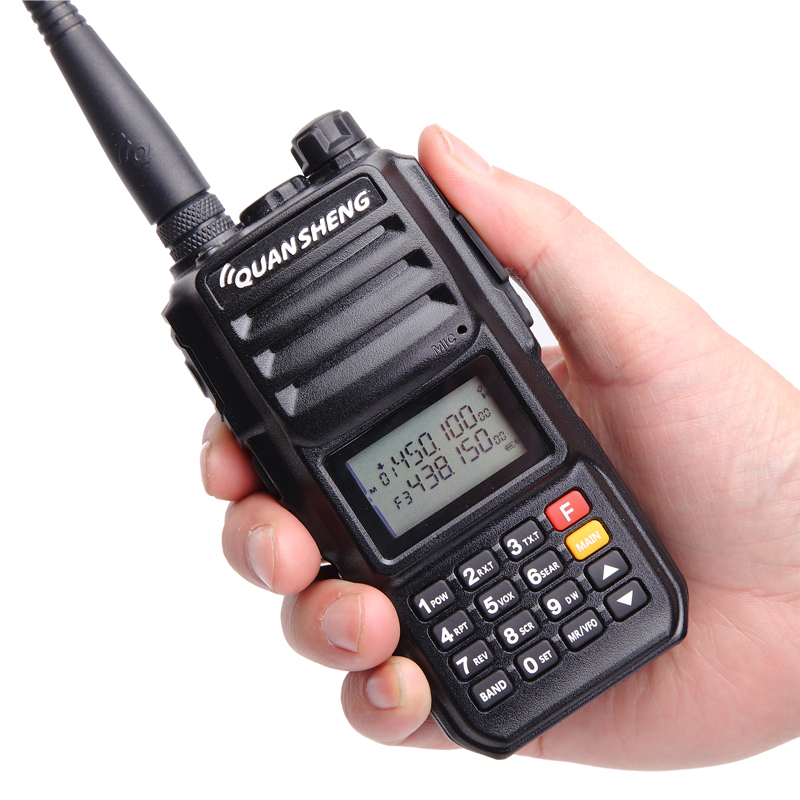 Quansheng TG-UV2 PLUS Talkie Walkie Puissant 10 W 5 Bandes 136-174 MHz/Police bande 350-390MH/400 -470 MHz 4000 mAh 10 KM Gamme 200CH