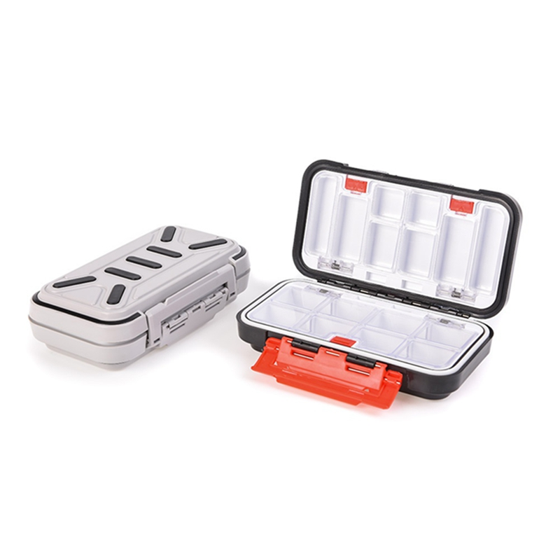 High Quality Large Waterproof ABS Fishing Storage Box Double Side Sea Boat Distance Carp Fly Fishing Tackle Accessories Gear Box(China)