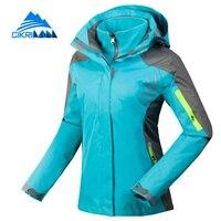Winter Sport Windstopper Waterproof Outdoor Camping Hiking Jacket Women Snowboard Ski Coat Warm Fleece Liner Chaquetas Mujer