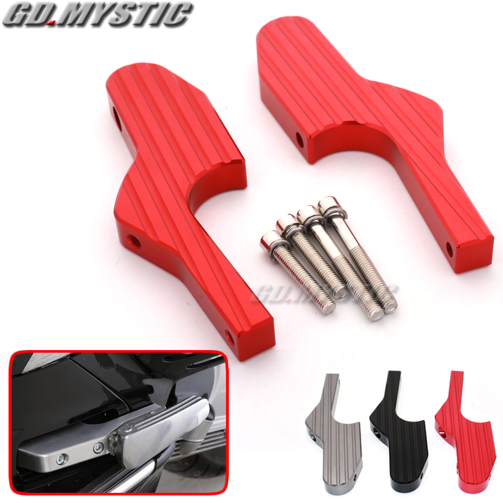 Scooter Foot Rests Passenger Foot Pegs Extensions Universal font b CNC b font Extended Footpegs for