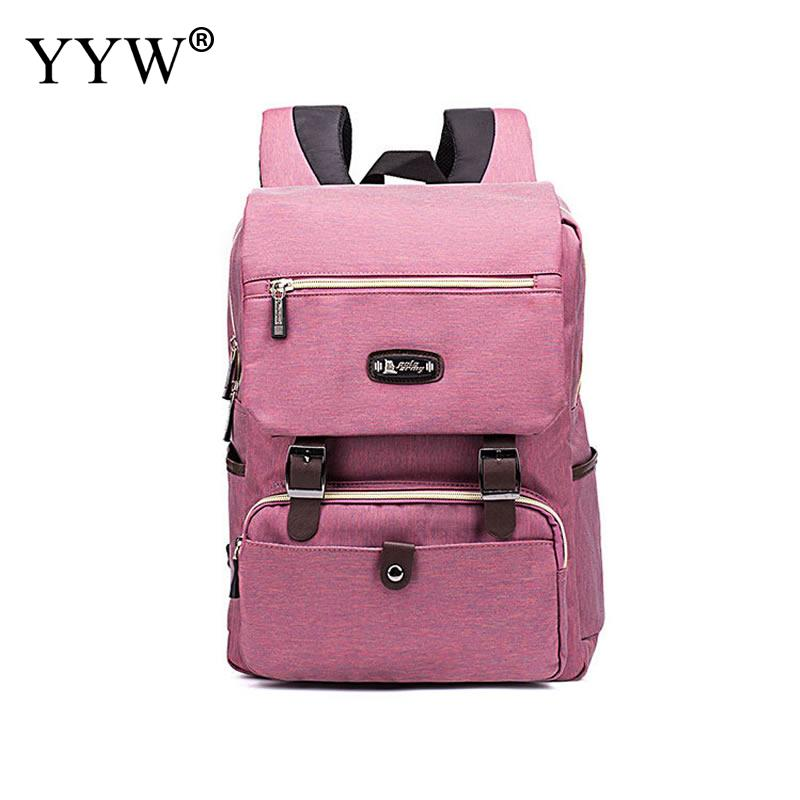 Rose Oxford Women Shoulder Backpack With Zipper Unisex School Student Colleague Bags Large Capacity Square Computer Bag 2018 HotRose Oxford Women Shoulder Backpack With Zipper Unisex School Student Colleague Bags Large Capacity Square Computer Bag 2018 Hot