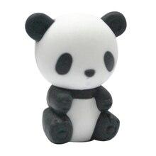 Китайский ластик панда супер милые животные ластик набор японский Kawii ластик набор для детей, чтобы играть на кровати 2 шт в партии