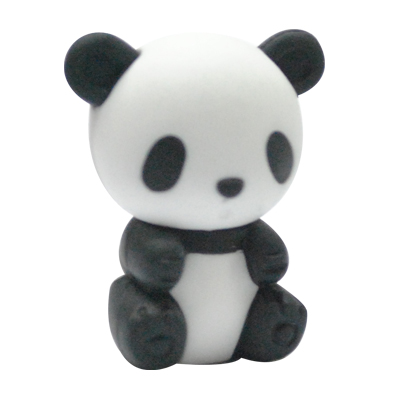 Chinese Panda Eraser Super Cute Animal Eraser Set Japanese Kawii Eraser Set For Kid To Play On Bed 2 PCS Per Lot