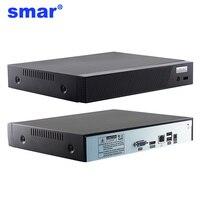 Smar más nuevo H.265 16CH 5MP/8CH 4MP/4CH 5MP CCTV NVR Hi3536D Securit Video grabadora ONVIF Cloud P2P alarma de correo electrónico salida máxima 4K