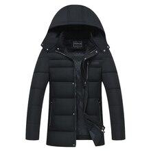 4XL Winter Jacket Men 2017 Thick Warm Outwear Softshell Varsity Trench Coat Fur Parkas Windbreak Hoodie Manteau Homm Cold Jacket