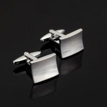 XK436 High high quality French Silver Cufflinks laser steel Cufflinks males Wedding Shirt / wholesale / retail / equipment