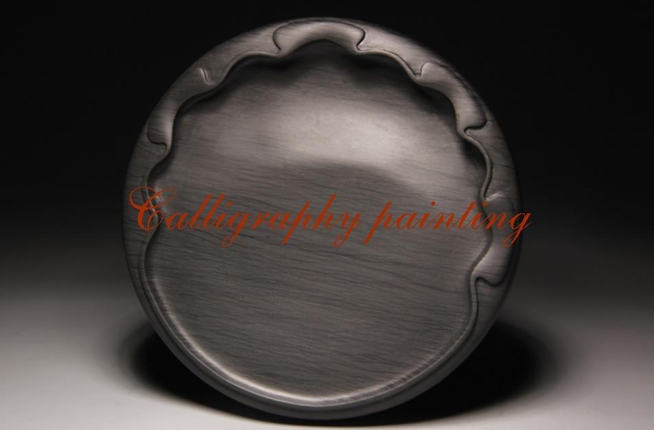 купить She Ink Stone Lotus leaf shape Inkstone Inkslab Calligraphy Painting Tool по цене 9624.37 рублей