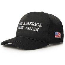 New US Trump Election Presidential 2020 Cap Baseball Black White Red for Men Women