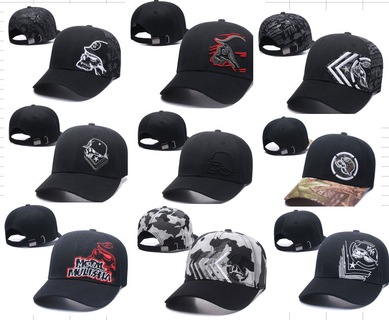 2018 Fashion Metal Mulisha Baseball Caps Men Flat Hat Snapback Cap Women  Hip Hop Brand New usa Skull Letter Embroidered hat a4bc140c8ce