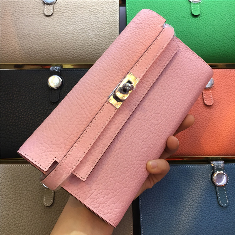 Women Wallets Genuine Leather Casual Fanous Brand Ladies Long Clutch Cowhide Wallet Fashion Female Purse Girl Carteira Feminina