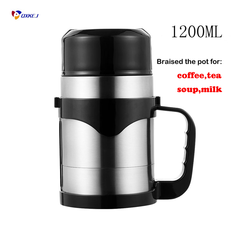 Car Electronics Auto 12v/24v 100w/150w Car Electric Kettle 1200ml Holder Auto Heating Cup Travel Heated Cup Hot Water Heater For Coffee Tea Mug Vehicle Heating Cup