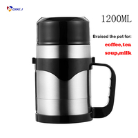 Auto 12V/24V 100W/150W Car Electric Kettle 1200ML Holder Auto Heating Cup Travel Heated Cup Hot Water Heater For Coffee Tea Mug