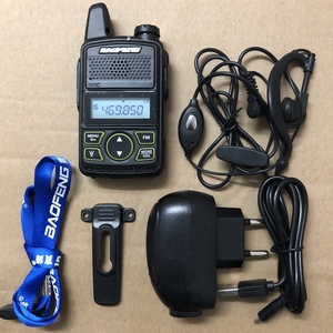 Image 1 - Baofeng bf t1 UHF 400 470MHZ 20CH baofeng T1 Mini ultra sottile micro guida BaoFeng Hotel walkie talkie civile