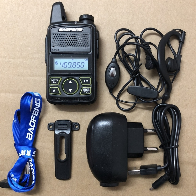 Baofeng bf t1 UHF 400 470MHZ 20CH baofeng T1 Mini ultra sottile micro guida BaoFeng Hotel walkie talkie civile