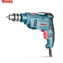 Ronix мощный инструмент 10 мм 400 Вт Электрическая Дрель ударная дрель Модель 2121