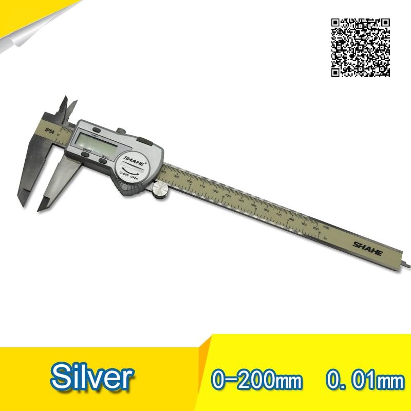 High quality Digital display calipers.0-200mm 0-6inch digital vernier caliper.High quality Digital display calipers.0-200mm 0-6inch digital vernier caliper.