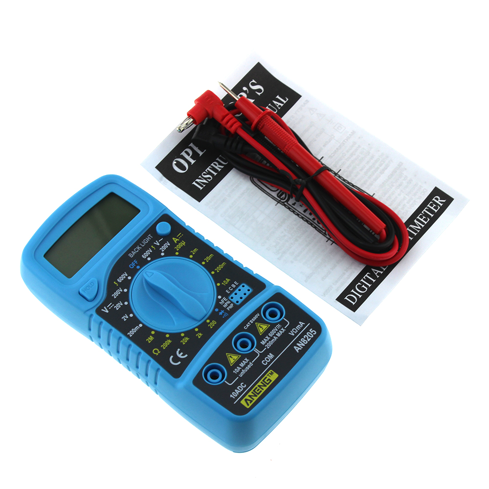 Тестер мультиметр электрический инструмент высокопроизводительный цифровой мультиметр DC/AC Премиум качество