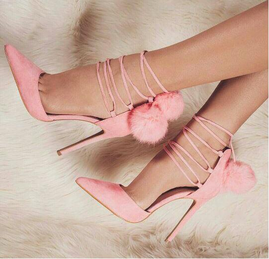 : Buy New Fashion pink Suede Leather lace up