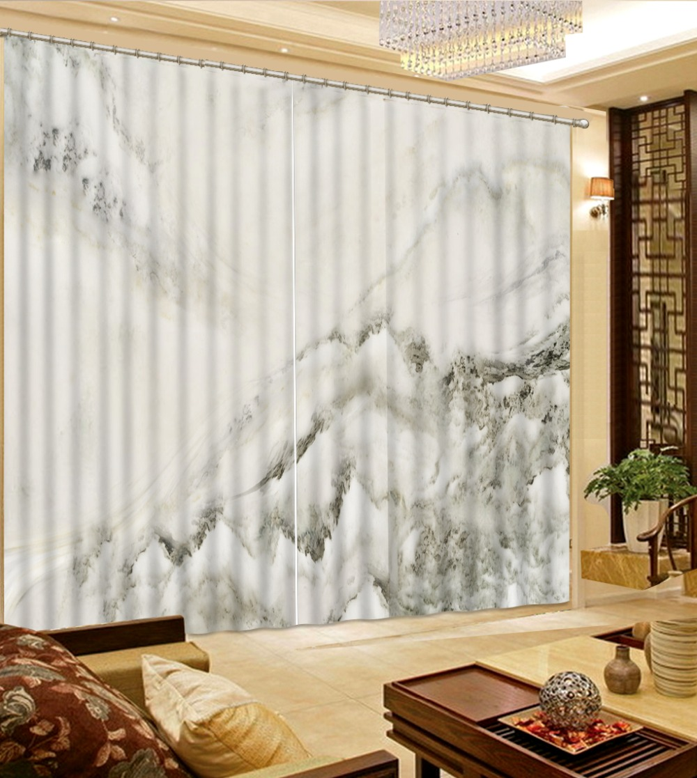 Customized size Luxury Blackout 3D Window Curtains For Living Room marble curtains Blackout curtain Customized size Luxury Blackout 3D Window Curtains For Living Room marble curtains Blackout curtain
