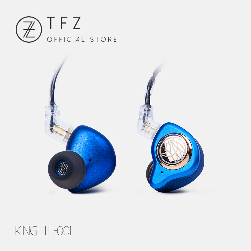 The fragrant Zither/ 2018 KING II Hifi Monitor Earphones,3.5mm Wired Stereo Headset HIFI Music Earphone Earbud Free Shipping ty hi z f300m 300ohm 5n high imdependce fidelity flat head earbud headset 300 seahf hp320 hifi music dj monitor stereo earphones