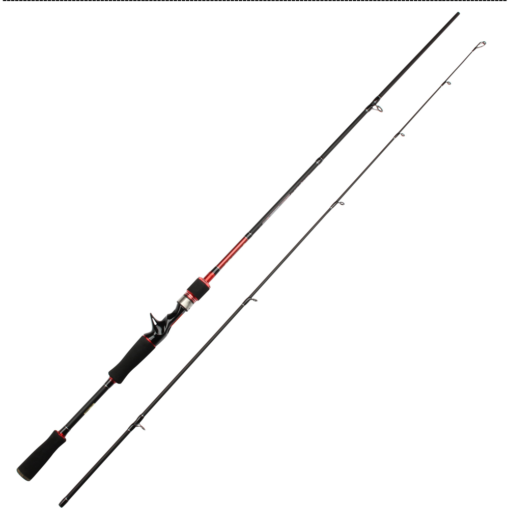 ROSEWOOD 2.1m M Power Ul Spinning Baitcasting Fishing Rod 5-18LB Line Weight Ultra Light Carbon Spinning Rod Bait Caster Rod (9)