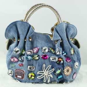 09fd045598 Natrugo Women Blue Handbags Ladies Tote Bag Messenger Bags