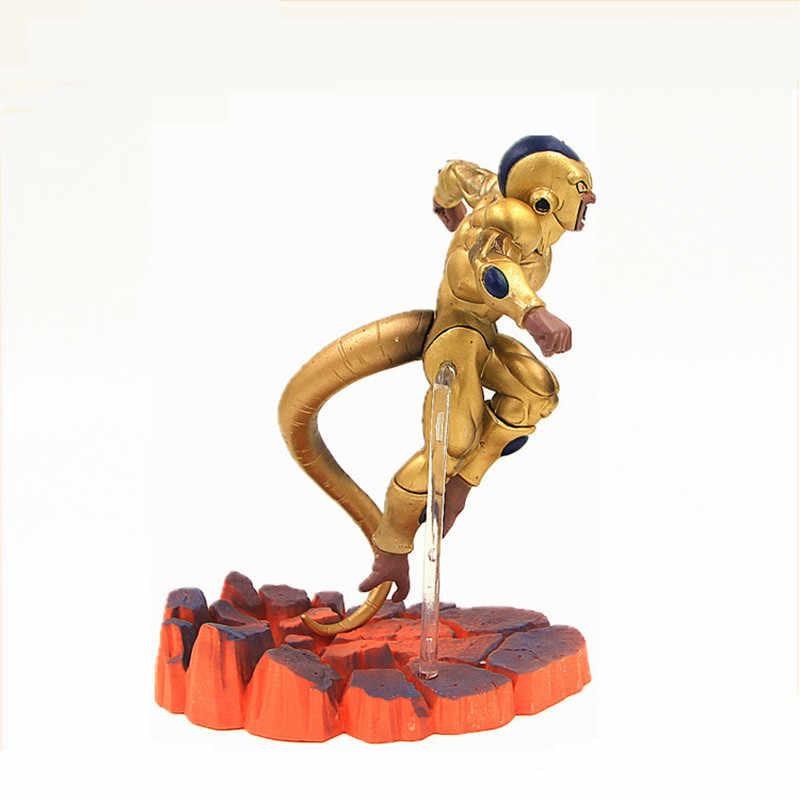 Coincidir Com Fabricantes de Dragonball Z Super Saiyan Goku Son Goku Frieza VS Freeza Dragon Ball Action Figure Coleção Modelo Brinquedos