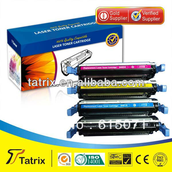 FREE DHL MAIL SHIPPING Q6463A Toner Cartridge Triple Test Q6463A Toner Cartridge for HP toner Printer