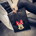 2016 Women Handbags Minnie Mickey Bag Leather Handbags Single Shoulder Bag Bolsa Feminina mochila Bolsas Female sac a main