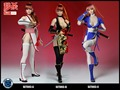 1/6 Scale SUPER DUCK 1/6th Sexy Fighting Girl Clothing Head Set F Phicen Female Body Blue White Black