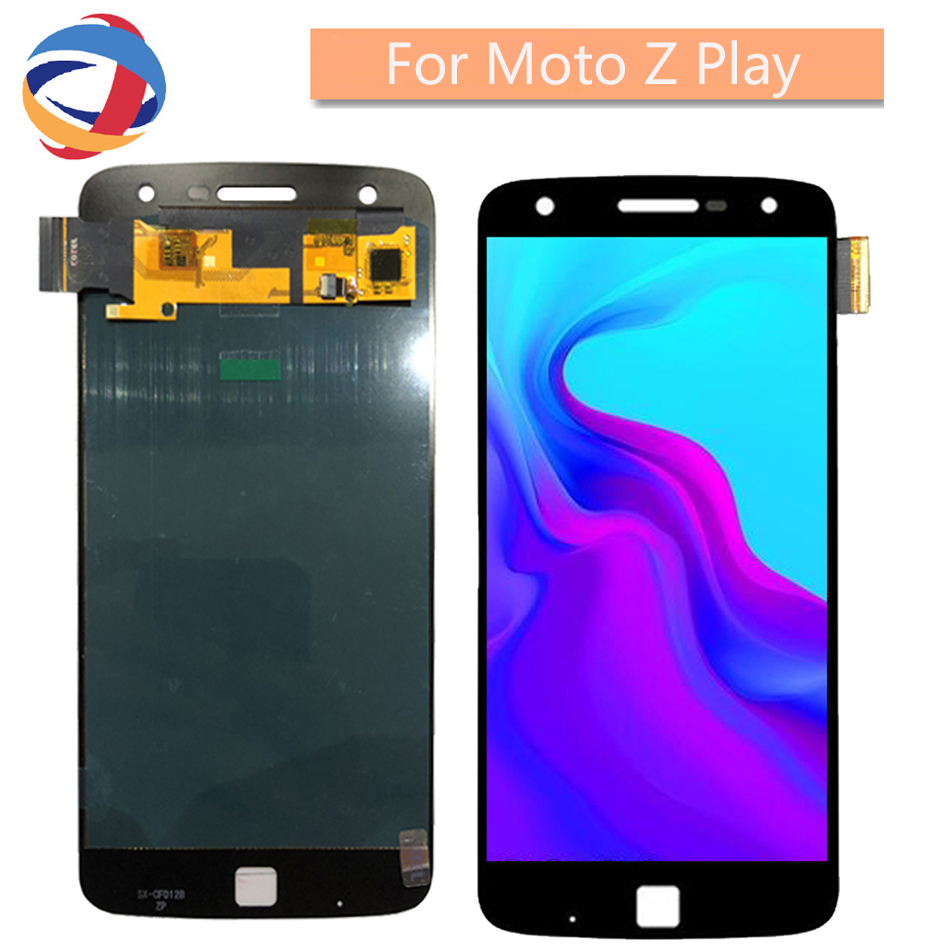 Tested Lcd For Motorola Moto Z Play LCD Display Touch Screen Digitizer <font><b>XT1635</b></font> <font><b>XT1635</b></font>-01 <font><b>XT1635</b></font>-<font><b>02</b></font> <font><b>XT1635</b></font>-03 LCD For Moto Z Play image