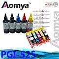 PGI-525/CLI-526 Refill Ink Kit Full Ink Cartridge Suit For Canon iP4850 iP4950 iX6550 MG5150 MG5250 MG6150 MG8150 MX885 MG6250