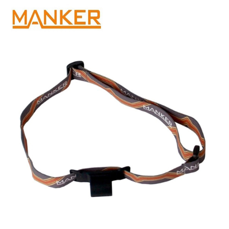 Manker Headband For Manker E02 Head Flashlight / E02H Headlight  Headlamp Gear Outdoor Camping Head Case Accessories