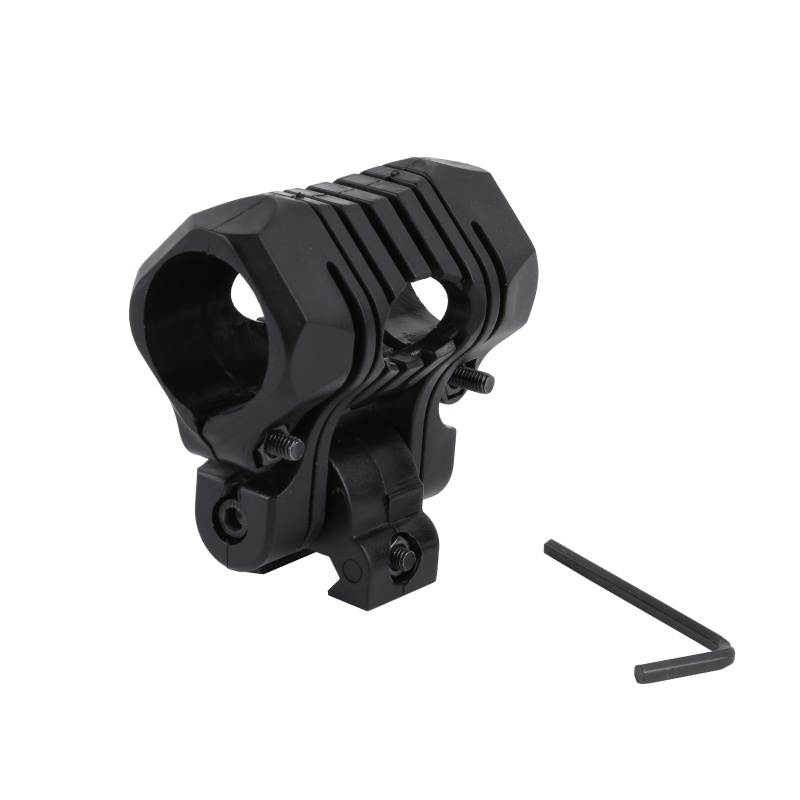 Tactical Light Mount 26mm 5 Position For Airsoft Flashlight (Laser) Picatinny 20mm Rail Mount For Hunting