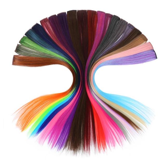 20 XUBCHC Nova Moda Cor Pedaço de Cabelo Da Moda Banda Cabelo Do Bebê Meninas Acessórios de Cabelo Multi-cor Peruca Para As Mulheres jóia do cabelo