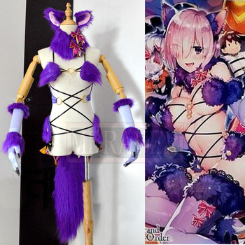 Fate Grand Order Matthew Kyrielite Sexy Cosplay Costume Custom Made Any Size