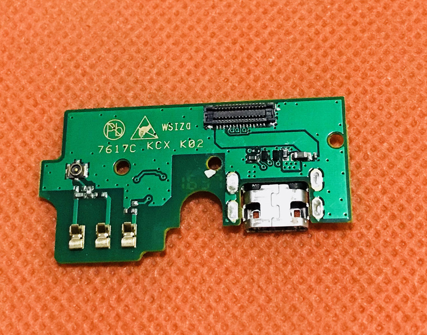 Used Original USB Plug Charge Board For HOMTOM HT20 Pro MTK6753 Octa Core Free shipping