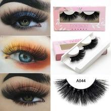 6842b07f09 A044 3D Mink eyelashes Winged lashes Long length lashes Makeup full lashes  High quality lashes Flutter lashes Doriskiki