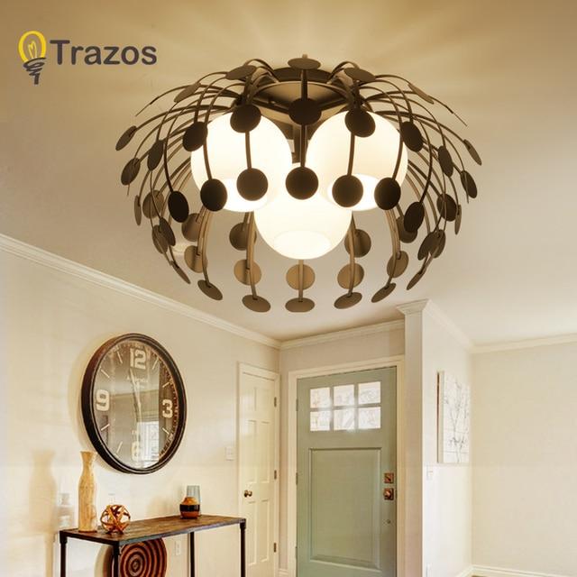 LED moderne simple lumières lampe pour salon Lustre plafonniers ...