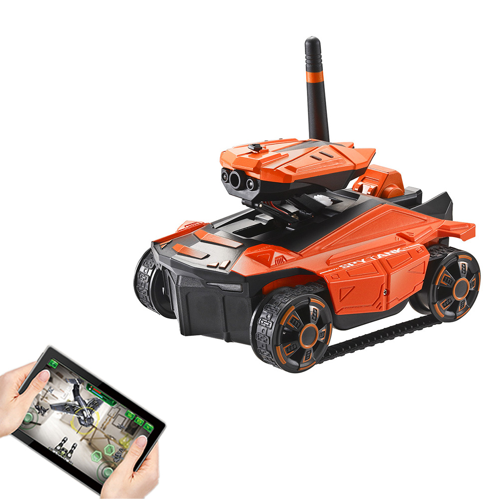 AR Battle RC Tank YD-211s Wifi FPV 0.3MP Camera App Remote Control   Toy Phone Controlled Robot Toys For ChildrenAR Battle RC Tank YD-211s Wifi FPV 0.3MP Camera App Remote Control   Toy Phone Controlled Robot Toys For Children