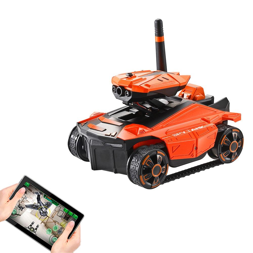 AR bataille RC réservoir YD-211s Wifi FPV 0.3MP caméra App télécommande jouet téléphone contrôlé Robot jouets pour enfants