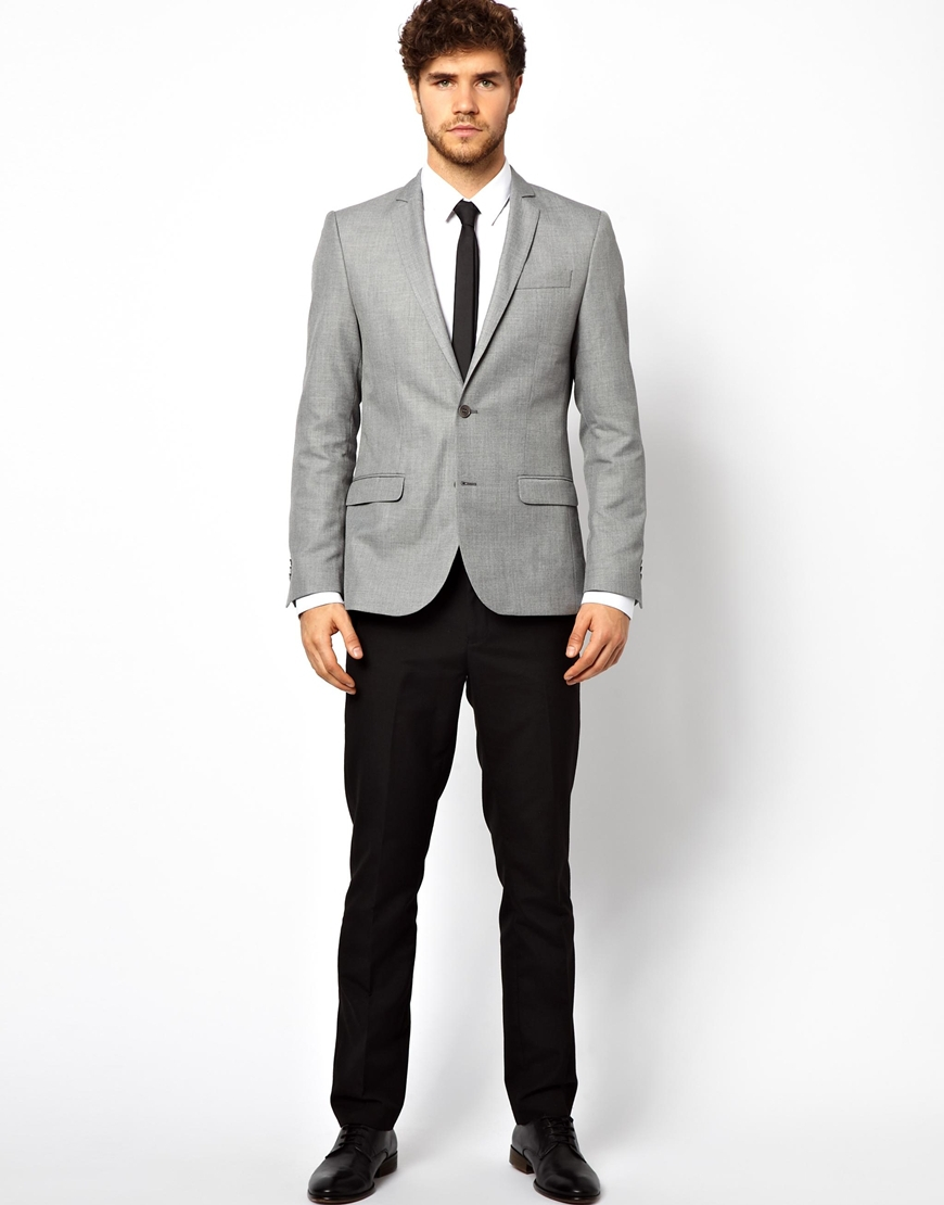 Collection Grey Blazer Men Pictures - Reikian